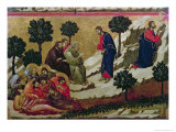 Maesta: Agony in the Garden of Gethsemane, 1308-11 Giclee Print by  Duccio di Buoninsegna