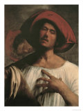Young Man Singing Giclee Print by Giorgione