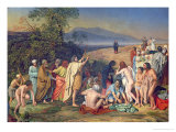 The Appearance of Christ to the People Giclee Print by Aleksandr Andreevich Ivanov
