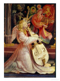 The Concert of Angels, from the Isenheim Altarpiece, c.1512-16 Giclée-tryk af Matthias Grünewald