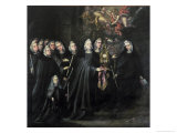 Procession of St. Clare with the Eucharist Giclée-Druck von Juan de Valdes Leal