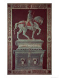 Equestrian Monument of Sir John Hawkwood Giclee Print by Paolo Uccello