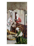 The Birth of St. John the Baptist, Kisszeden, 1490 Giclee Print