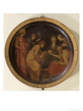 The Birth of St. John the Baptist, c.1526 Giclee Print by Jacopo da Carucci Pontormo