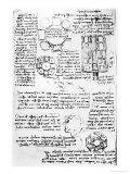 Design For a Palace and Park Giclee Print by  Leonardo da Vinci