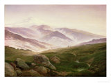 Reisenberg, the Mountains of the Giants, 1839 Giclee Print by Caspar David Friedrich