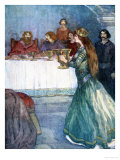 Rowena Came Into the Room, Our Island Story Marshall, Pub.Jack Ltd, London, 1905 Giclee Print by A.s. Forrest