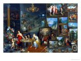 Sight and Smell Giclee Print by Jan Brueghel the Elder