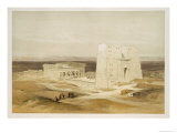 Temple of Edfu, Ancient Apollinopolis, Upper Egypt, from Egypt and Nubia, Vol.1 Giclee Print by David Roberts