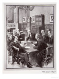 The Veto Conference, from 'The Year 1910: A Record of Notable Achievements and Events', 1910 Giclee Print by Samuel Begg