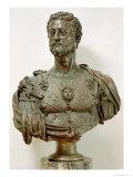 Portrait Bust of Cosimo I De' Medici Giclee Print by Benvenuto Cellini
