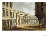 The Pump Room, from Bath Illustrated by a Series of Views Giclee Print by John Claude Nattes