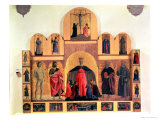The Misericordia Altarpiece, 1445 Giclee Print by Piero della Francesca