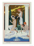 Ancient Rome, from The Art of Perfume, c.1912 Giclee Print by Georges Barbier