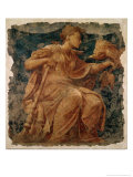 Hope, One of the Three Theological Virtues Reproduction proc&#233;d&#233; gicl&#233;e par Nicol&#242; dell&#39; Abate