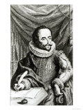 Portrait of Miguel de Cervantes Saavedra Giclee Print by William Kent