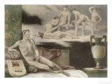 Ancient Times, Plate Xi from De Figuris Veneris by F.K Forberg, Engraved by Artist, 1900 Giclee Print by Edouard-henri Avril