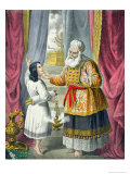 Eli Questioning Samuel Regarding the Vision, from a Bible Printed by Edward Gover, 1870's Giclee Print by Siegfried Detler Bendixen