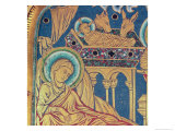 The Nativity, Panel from the The Verduner Altar, 1181 Giclee Print by Nicholas of Verdun 