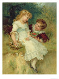 Sweethearts, from the Pears Annual, 1905 Giclee Print by Frederick Morgan