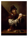 Portrait of an Old Man with an Onion Giclee Print by Jusepe de Ribera