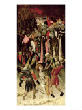 The Persecution of St. George. c.1435 Giclee Print by Bernardo Martorell