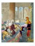 Joseph Receiving the Homage of His Brethren, from a Bible Printed by Edward Gover, 1870's Giclee Print by Siegfried Detler Bendixen