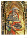 St. Peter, Detail from the Sant'Emidio Polyptych, 1473 Giclee Print by Carlo Crivelli