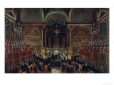 The Investiture of a Monarch in San Lorenzo Giclee Print by Gabriele Bella