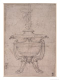 Study of a Decorative Urn Giclee Print by  Michelangelo Buonarroti
