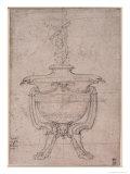 Study of a Decorative Urn Giclee Print by  Michelangelo Buonarroti