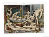 Ancient Times, from De Figuris Veneris by F.K Forberg, Engraved by the Artist, 1900 Giclee Print by Edouard-henri Avril