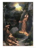 St. Francis Receiving the Stigmata Giclee Print by Federico Barocci