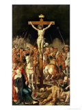 Calvary, Central Panel of a Triptych Giclee Print by Maerten van Heemskerck