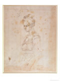 Sketch of a Woman Giclee Print by  Michelangelo Buonarroti