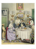 The Breakfast, Plate 3 from Anglo Indians, c.1842 Giclee Print by William Tayler
