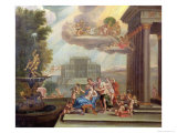 The Toilet of Venus, 18th Century Giclee Print by Francesco Albani