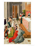 The Veneration of St. Ursula, Before 1482 Giclee Print by  Master of the Legend of St. Ursula