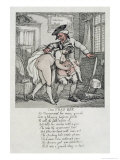 The Toss Off, Poem and Illustrations, 1808-1817 Giclee Print by Thomas Rowlandson