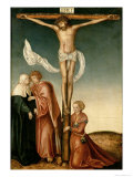 The Crucifixion Lámina giclée por Lucas Cranach the Elder