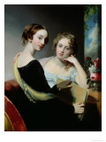 Portrait of the Mceuen Sisters, After 1823 Giclee Print by Thomas Sully
