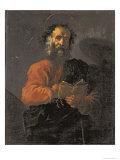 St. Jude Giclée-tryk af Domenico Fetti