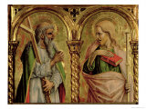 St. Andrew and St. James the Greater, Detail from the Sant'Emidio Polyptych, 1473 Giclee Print by Carlo Crivelli