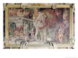 The Royal Elephant, from the Gallery of Francis I Giclee Print by Rosso Fiorentino (Battista di Jacopo)