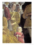 Dwarf and Courtiers, Family and Court of Marchese Ludovico Gonzaga III of Mantua, c.1465-74 Giclee Print by Andrea Mantegna