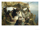 Mary Stuart's Farewell to France, 1862 Giclee Print by Henry Nelson O'Neil