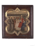 St. Francis Before the Pope and Cardinals Giclee Print by Taddeo Gaddi