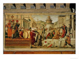 St. George Baptising the Gentile, 1501-07 Giclee Print by Vittore Carpaccio