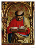 St. Matthew, Detail from the Sant'Emidio Polyptych, 1473 Giclee Print by Carlo Crivelli