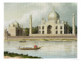The Taj Mahal, Tomb of the Emperor Shah Jehan and His Queen Giclee Print by Charles Ramus Forrest